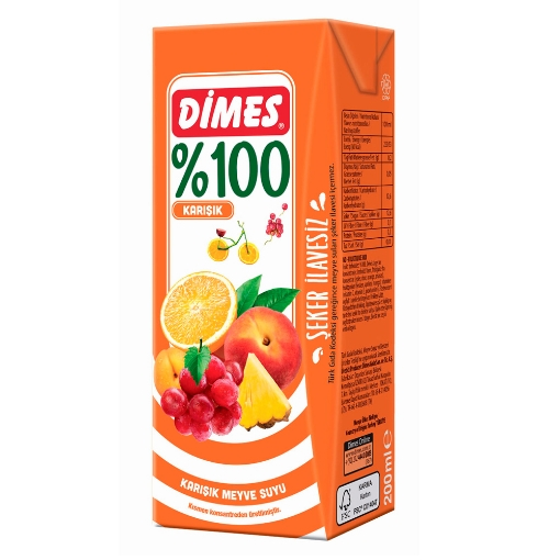 DIMES M.SUYU KARISIK 200 ML resmi