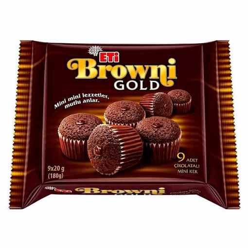 ETI BROWNI GOLD MINI 180 GR 1737300 resmi