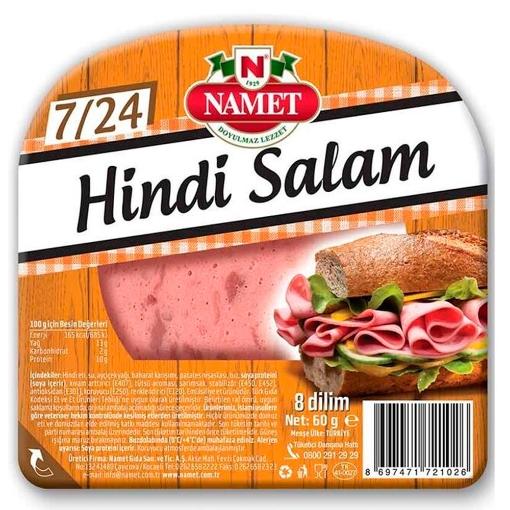 NAMET 7/24 HINDI SALAM 50 GR resmi