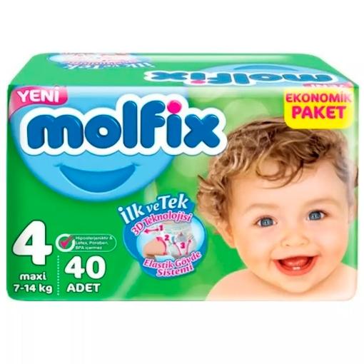 MOLFIX 3D 4 MAXI 7-14 KG 40 ADET resmi