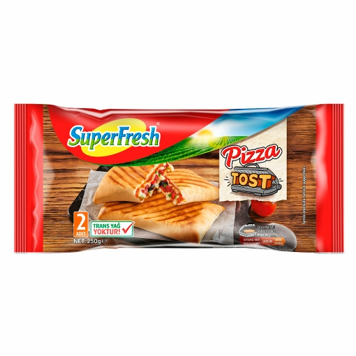 SUPERFRESH PIZZA TOST 250 GR resmi