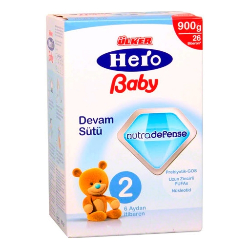 ULKER HERO BABY D.SUTU 2 NUTRODEFANCE 900 GR resmi