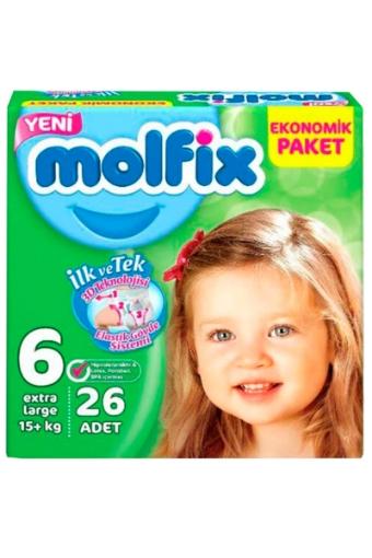 MOLFIX 3D 6 EXTRA LARGE 15+ KG 26 ADET resmi