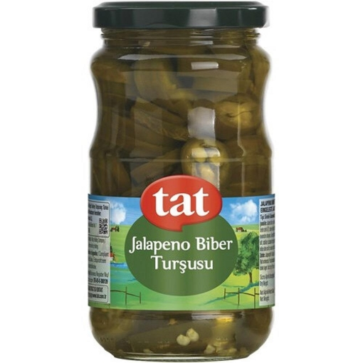 TAT JALAPENO BIBER TURSUSU 370 GR resmi