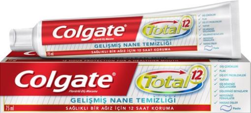 COLGATE TOTAL NANE TEMIZLIGI 75 ML resmi