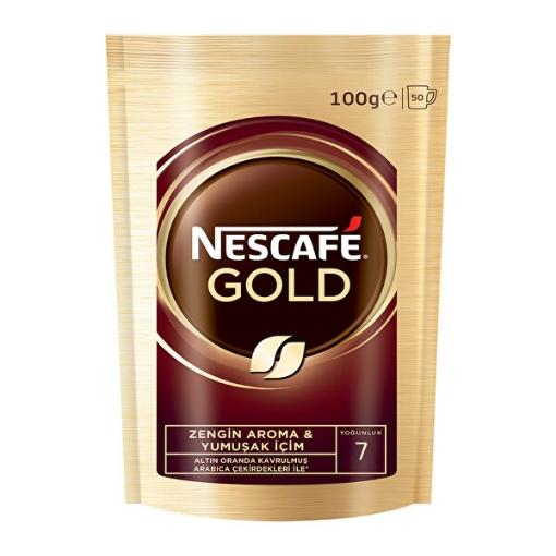 NESCAFE GOLD 100 GR POSET resmi