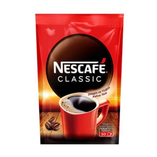 NESCAFE CLASSIC 100 GR POSET resmi