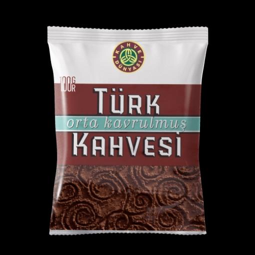 KAHVE DUNYASI TURK KAHVESI 100 GR resmi