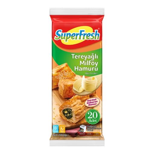 SUPERFRESH TEREYAGLI MILFOY HAMURU 1000 GR resmi