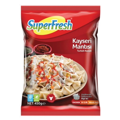 SUPERFRESH KAYSERI MANTI 450GR resmi