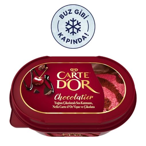 ALGIDA CARTEDOR CHOCOLATIER VISNE 750 ML resmi