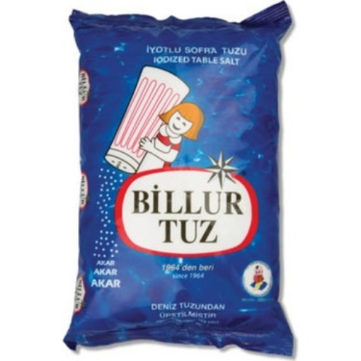 BILLUR TUZ IYOTLU 1.5 KG resmi
