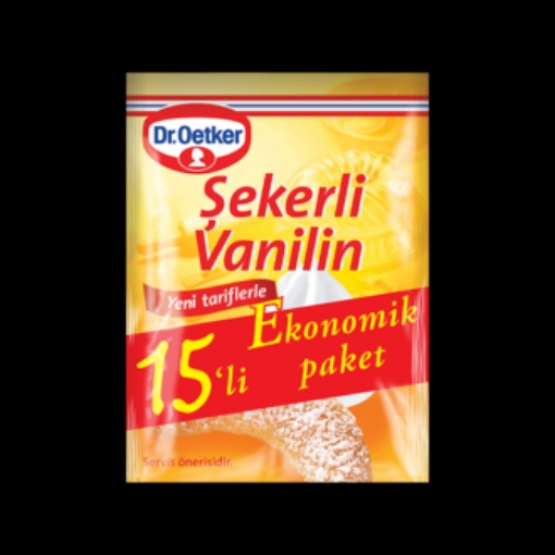 DR. OETKER VANILIN TOZU 15-LI resmi