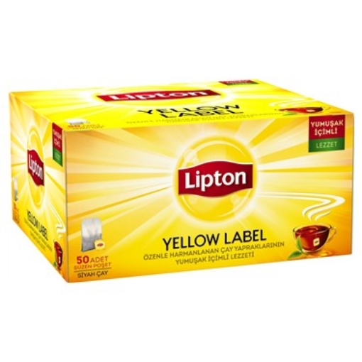 LIPTON YELLOW LABEL 50 GR resmi