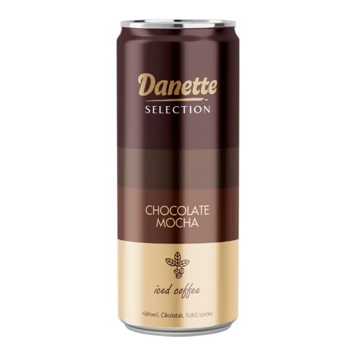 DANONE DANETTE CHOCOLATE MOCHA 250 ML resmi