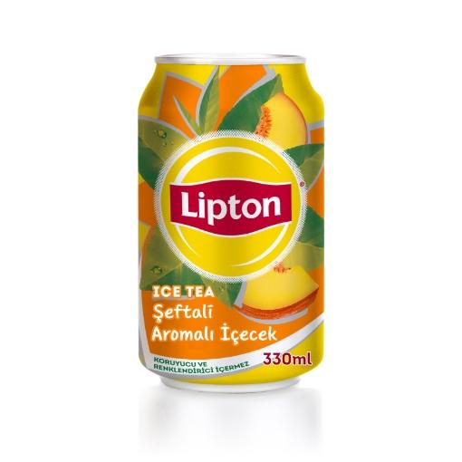 LIPTON ICE TEA SEFTALI 330 ML resmi