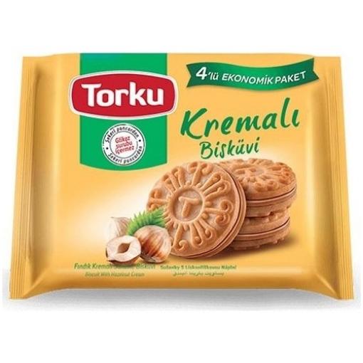 TORKU FINDIK KREMALI BISK 4*61 GR resmi