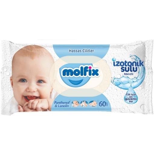 MOLFIX IZOTONIK ISLAK HAVLU HASSAS 60 LI resmi