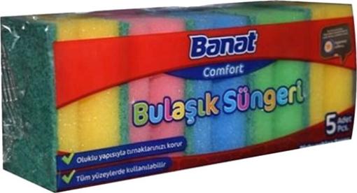 BANAT COMFORT OLUKLU BUL.SUNGERI 5 LI RENKLI resmi