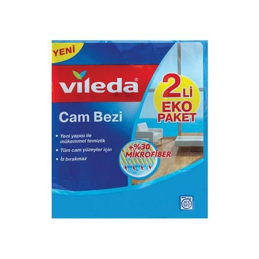 VILEDA CAM BEZI 1+1 resmi