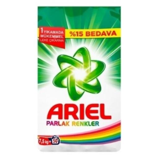 ARIEL PARLAK RENKLER 7,5 KG. resmi