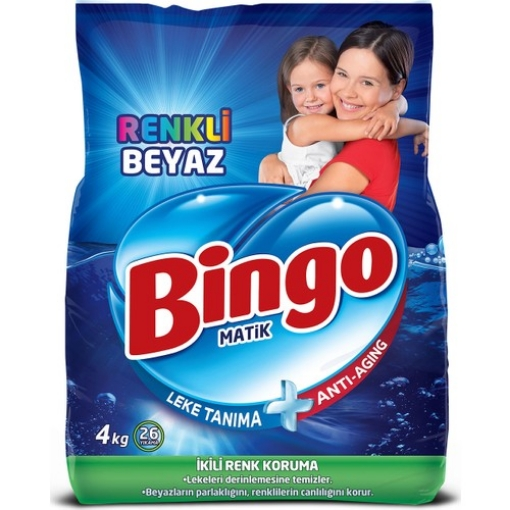 BINGO KONS. MATIK RENKLI 4 KG resmi
