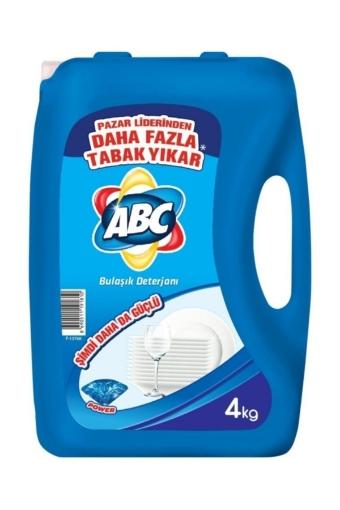 ABC BULASIK DETERJANI POWER 4 LT resmi