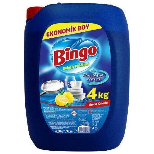 BINGO BULASIK DETERJANI LIMON 4 KG resmi