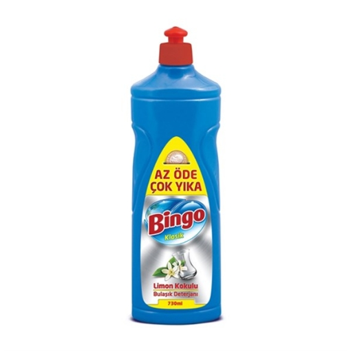 BINGO BUL.DET.KLASIK LIMON 730 ML resmi