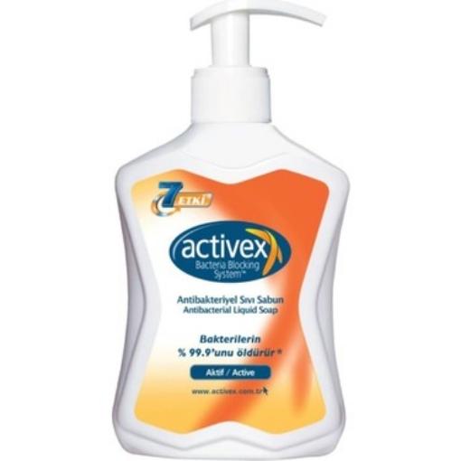 ACTIVEX ANTIBAK. SIVI SABUN AKTIF 300 ML resmi
