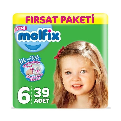 MOLFIX FIRSAT PAKETI NO 6 EXTRA LARGE 15+KG 39 AD. resmi