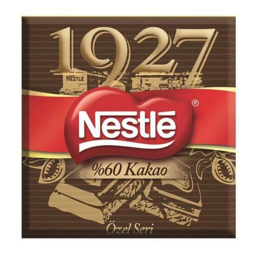 NESTLE 1927 BITTER CIK.%60 KAKAO 65GR resmi